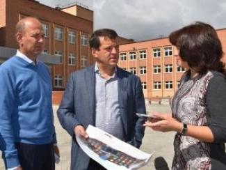 С начала нового учебного года на ул. Бондаренко откроется «Школа-город»