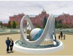 Новости  - На Привокзальной площади Казани установят фонтан
