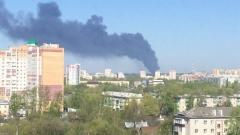 Новости  - В Казани ликвидировали пожар в районе ЖБИ-3