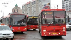 В нерабочую неделю транспорт Казани будет ходить по графику выходного дня