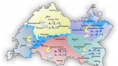 Новости  - Сегодня по Татарстану ожидается мокрый снег и дождь