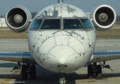 Новости  - Самолёт «Ак Барс Аэро» экстренно вернулся в аэропорт Казани из-за трещины в лобовом стекле