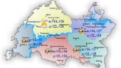 По Татарстану сегодня ожидаются небольшие дожди