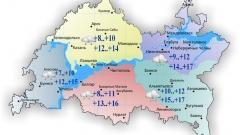 Новости  - Сегодня в Татарстане на протяжении всего дня дождь и облачность