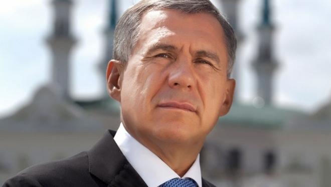 Рустам Минниханов занял первую строчку в рейтинге глав регионов