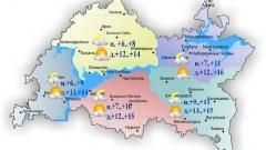 Новости Погода - Сегодня днем в Татарстане без осадков и облачность с прояснениями