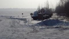 Новости  - На границе с Нижнекамским районом открыли новую ледовую переправу