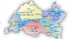 Новости  - 6 сентября воздух в Татарстане прогреется до 23 градусов тепла