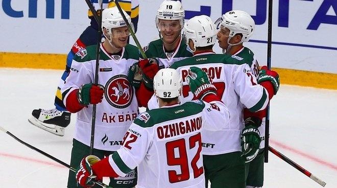 Казанские хоккеисты выиграли у«Сочи»
