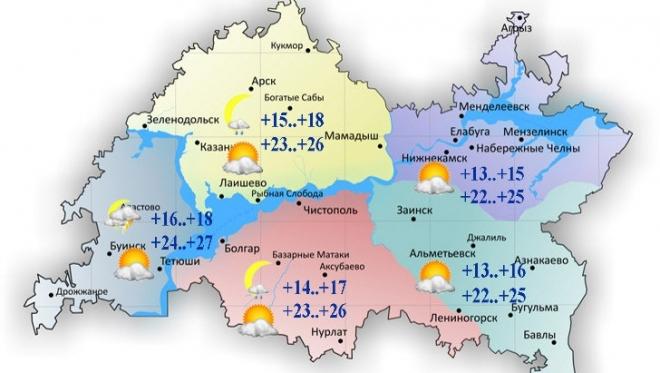 Новости  - Сегодня в Татарстане переменная облачность и отсутствие осадков