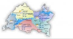 Гидрометцентр по РТ: мороз в Татарстане набирает обороты