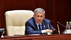 Новости  - Президент Татарстана прилетел в Индию с рабочим визитом
