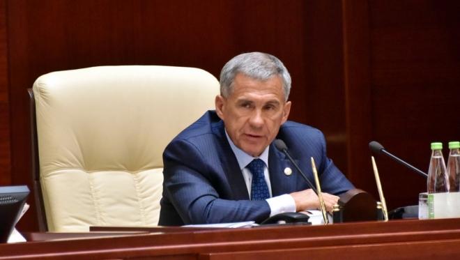 Президент Татарстана прилетел в Индию с рабочим визитом