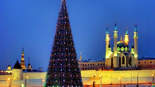 Главная ёлка Казани будет стоить 2,2 млн рублей