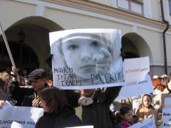 Новости  - Родители русскоязычных школьников требуют прекратить уголовное преследование Виктории Можаровой