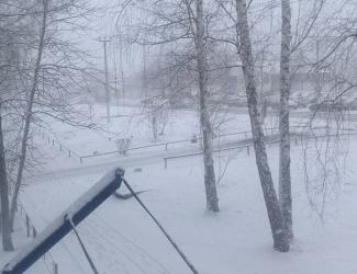Аномальная апрельская погода в РТ: несколько городов завалило снегом