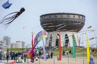 Фестиваль воздушных змеев состоится в Казани 16 июля