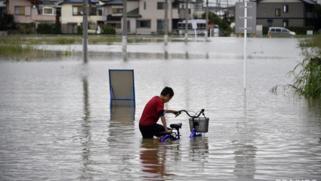 В Японии больше сотни человек погибли под властью стихии