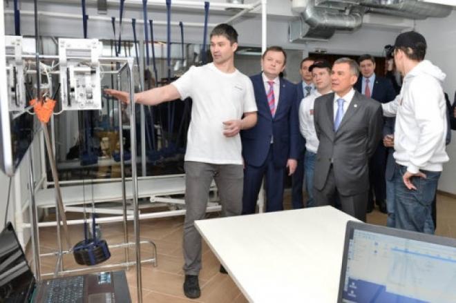 В Казани открылся первый в России частный hardware-технопарк