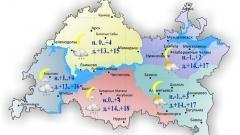 Новости  - 2 мая по Татарстану ожидаются небольшие осадки в виде дождя