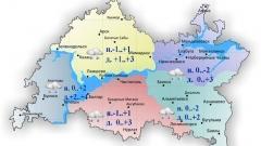 Новости Погода - По Татарстану сегодня ожидается мокрый снег и морось