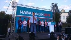 Новости  - Сторонники Навального штурмуют исполком Казани
