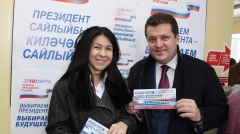 Новости  - Президент Татарстана и мэр Казани проголосовали на выборах