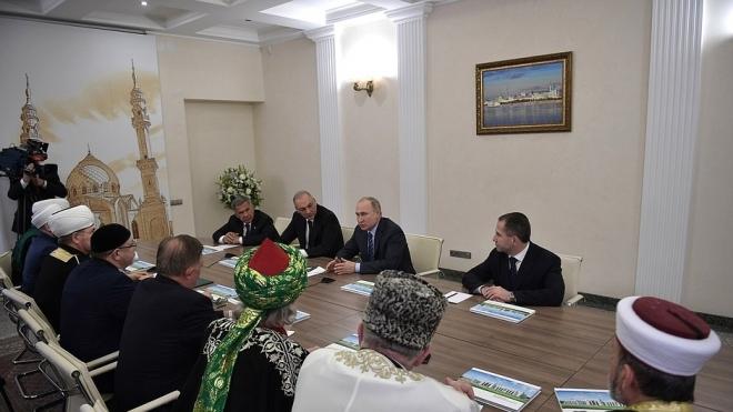 """Путин в Казани: """"Мы будем поддерживать дальше исламское образование"""""""