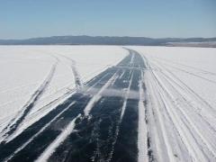 Новости  - Ледовая переправа Зеленодольск – Нижние Вязовые снова открыта