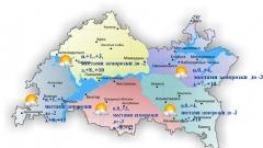 Сегодня в Татарстане ожидается переменная облачность