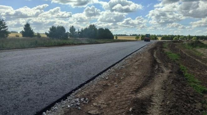 В Татарстане отремонтировали участок дороги М-7 «Волга»