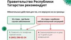 Новости  - Минздрав РТ опубликовал краткую инструкцию для тех, кто вернулся из-за границы