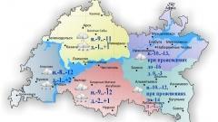 Новости  - 5 марта в Татарстане температура воздуха поднимется до -3..+2