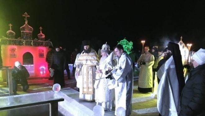 Раифский монастырь в ночь Крещения посетило около 2,5 тысячи человек