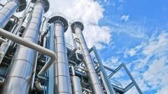 Новости  - На татарстанском заводе упала химическая колонна