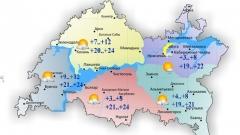 Новости  - В Татарстане сегодня воздух прогреется до 24 градусов тепла