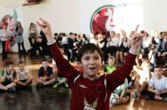 Новости  - Юных болельщиков казанского футбольного клуба приглашают на «Рубиновую ёлку»