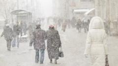 Новости Погода - 14 февраля в Казани ожидается снег и метель