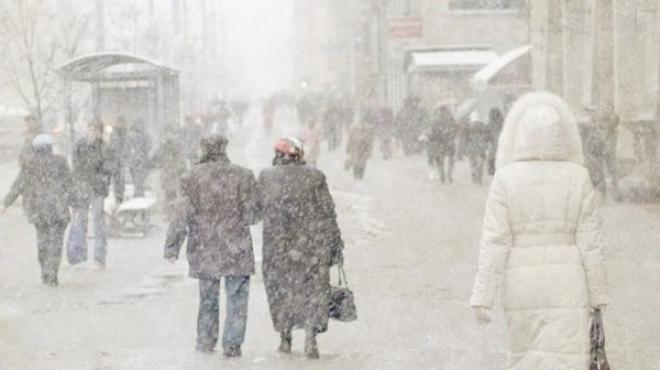 14 февраля в Казани ожидается снег и метель