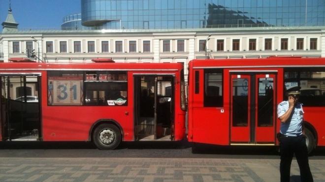 По трем маршрутам автобусов в Казани вводят экспериментальный вай-фай