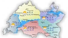 Новости  - Сегодня по Татарстану ожидается небольшой дождь