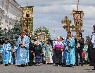 Центр Казани перекроют из-за крестного хода