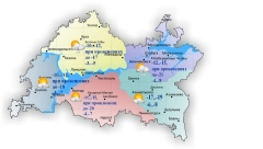 Новости  - В Татарстане сегодня столбик термометра поднимется до 3 градусов мороза