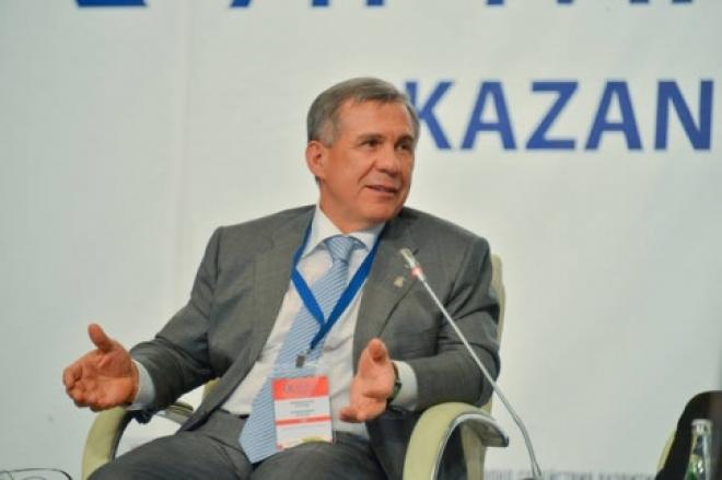 Рустам Минниханов выступил на открытии Казанской венчурной ярмарки
