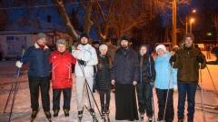 Новости  - Десятки лыжников объединились в массовом шествии в память об убитой в Нижнекамске спортсменки