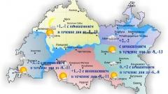 Сегодня по Татарстану ожидается похолодание