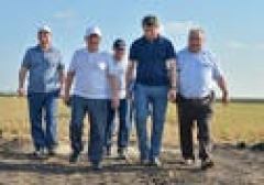 Новости  - Минниханов проинспектировал уборку урожая в Дрожжановском районе