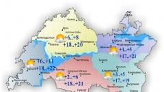 Новости  - Температура воздуха в Татарстане сегодня поднимется до 22 градусов