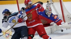 Новости  - Сборная России по хоккею обыграла сборную Финляндии