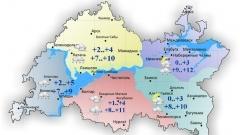Сегодня в Татарстане дождливая и пасмурная погода